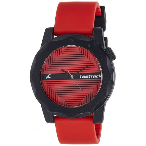 Fastrack 38022PP09 Analog Multicolor Dial Men's Watch