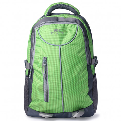 SDC Polyester Laptop Backpack (Green)