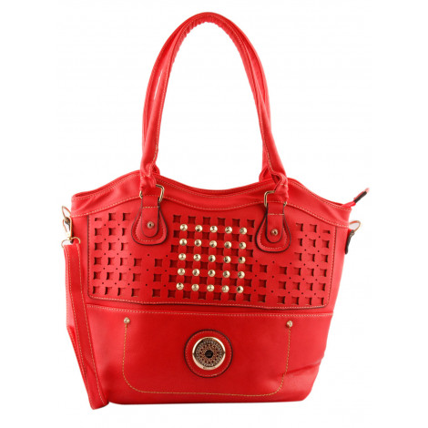 Lalana Women's PU Handbag (Red)