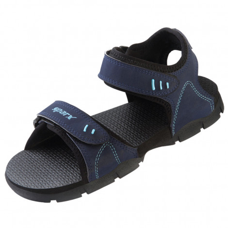 Sparx Men's Sandals (Black)