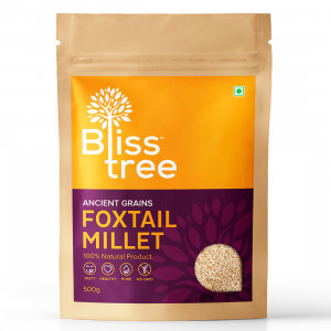 Bliss Tree Foxtail Millet Hulled / Thinai (500 gm)