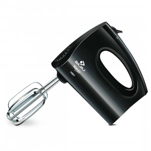 Bajaj HM01 250-Watt Hand Blender With SS Dough Hooks (Black)