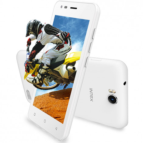 Intex Aqua 4.5 Pro (White, 1GB RAM, 8GB ROM) Mobile