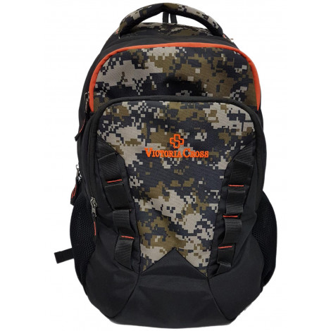 VictoriaCross Polyester Laptop Backpack (Camouflage)